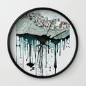 Don't let it go to waste Wall Clock