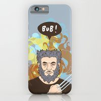 iPhone & iPod Case featuring BUB! Wolverine / Logan by Geo Law