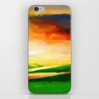 Colorful Sky - Painting … iPhone & iPod Skin