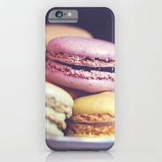 macarons on the windowsill Slim Case iPhone 6s