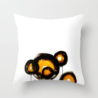 datadoodle 009 Throw Pillow