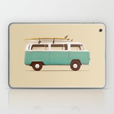 Blue Van Laptop & iPad Skin