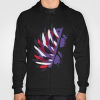 Colorful Abstract Hedgehog Hoody