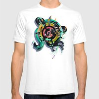 OVUM Mens Fitted Tee White SMALL