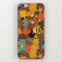 The Bee. iPhone & iPod Skin