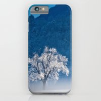iPhone & iPod Case featuring Winter Landscape by sissidesign