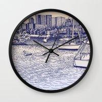 Charles River Esplanade Wall Clock