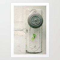 Lock & Key Art Print