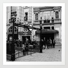 At Piccadilly Art Print