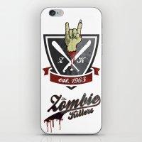 The Zombie Killers iPhone & iPod Skin