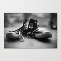 Converse High-tops  Canvas Print