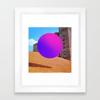 Modernismo Framed Art Print