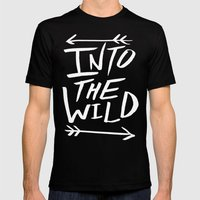 Into the Wild III Mens Fitted Tee Black SMALL
