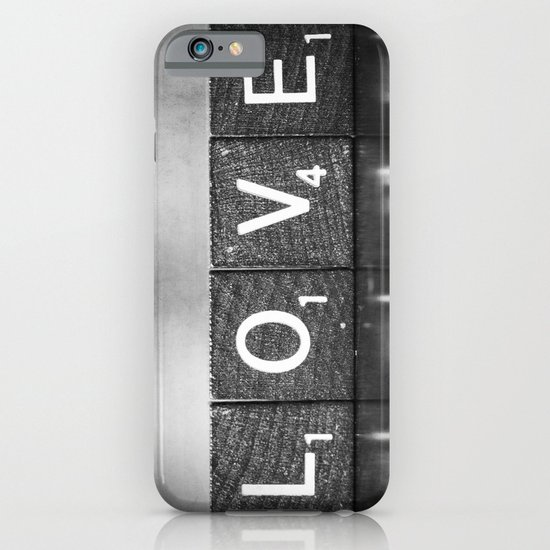 Love is a Beautiful Word - a fine art photograph iPhone & iPod Case