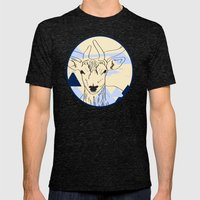 Cervidae Mens Fitted Tee Tri-Black SMALL
