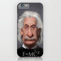 Celebrity Sunday ~ Albert Einstein E=MC² iPhone 6 Slim Case