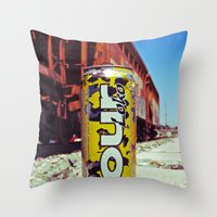 Thirst quencher Throw Pillow