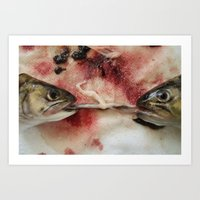 Passion of the Fish 03 Art Print