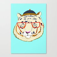 Rad Tiger Canvas Print