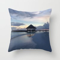THE PARADISE Throw Pillow