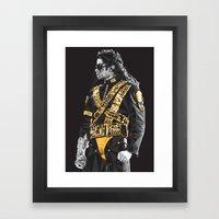 Dangerous - MJ Framed Art Print