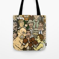 The Boxer Tote Bag