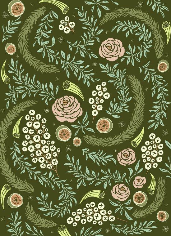 Spring's Dawn Floral Art Print