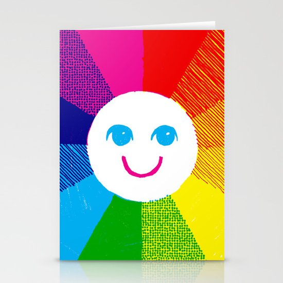 Show Your True Colors Stationery Card