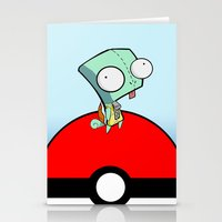 GIR Squirtle  Stationery Cards