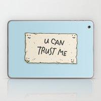 U Can Trust Me Laptop & iPad Skin