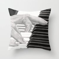 Piano Throw Pillow