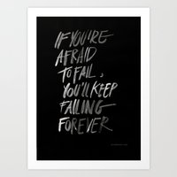 Failingforever Art Print