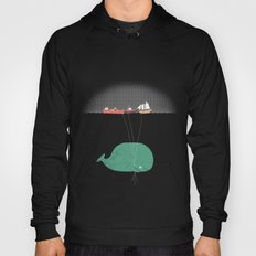 Whale Balloons  Hoody