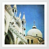 Basilica Di San Marco - … Art Print