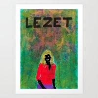 Lezet Art Print
