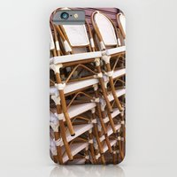 iPhone & iPod Case featuring Paris Café Chairs by Christine Haynes