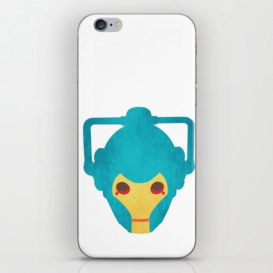 Colorful Cyberman Doctor Who iPhone & iPod Skin