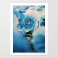 The Blue Beauty Art Print