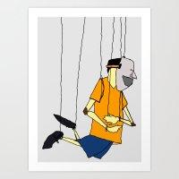 Hang  Art Print