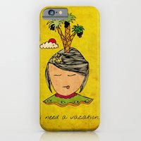 I Need A Vacation iPhone 6 Slim Case