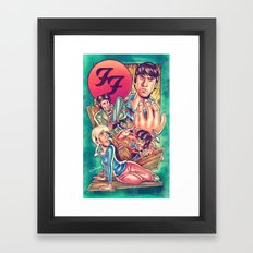 Waiting For FF Everlong Framed Art Print