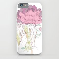 There's a Feeling In My Chest That Wants to Glide Like Leaves, and Set Like Fires 2/2 iPhone 6 Slim Case