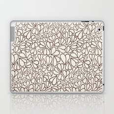 Hearts clear Laptop & iPad Skin