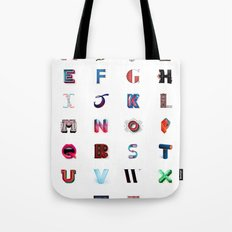 Illustrated Letters - Set One Tote Bag