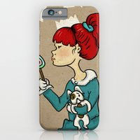 iPhone & iPod Case featuring candy monster by gokce inan