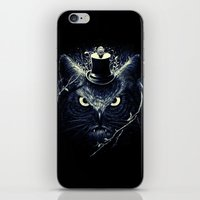 Meowl (Blue) iPhone & iPod Skin