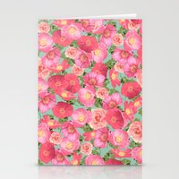 Flora Collage I Stationery Cards