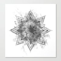 The Darken Stars Canvas Print