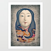 Matrioska Japonesa Art Print