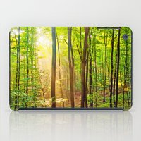 Sunbeams In The Forest iPad Case
